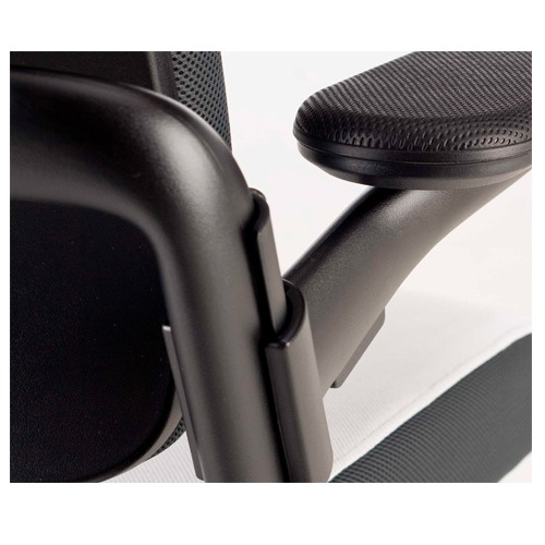 Perforated armrest pad